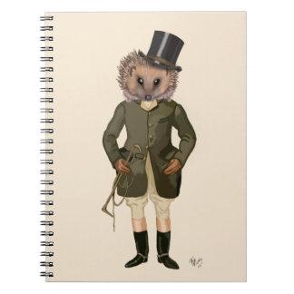 Hedgehog Rider Full 2 Notebooks