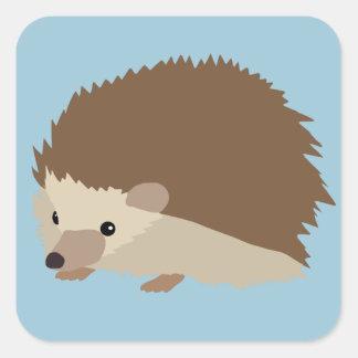 Hedgehog Square Sticker