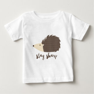 Hedgehog stay sharp baby T-Shirt