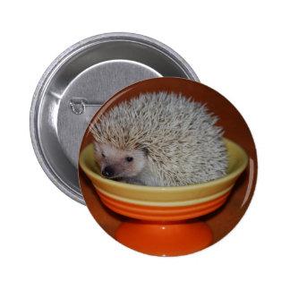 Hedgehog Sundae 6 Cm Round Badge