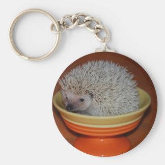 Hedgehog Sundae Key Ring