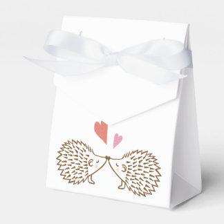 Hedgehog Wedding Favor Box Cute Hedgehogs Hearts