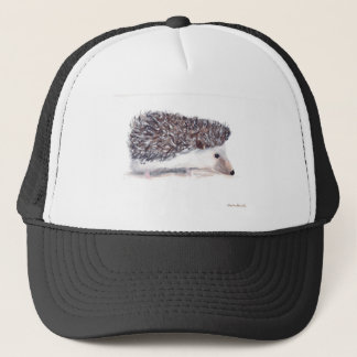 Hedgehog wild animal wildlife trucker hat