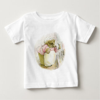 Hedgehog with Iron Mrs Tiggy-Winkle Baby T-Shirt