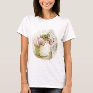 Hedgehog with Iron Mrs Tiggy-Winkle T-Shirt