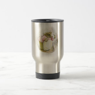 Hedgehog with Iron Mrs Tiggy-Winkle Travel Mug