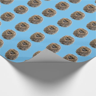 Hedgehog | wrapping paper