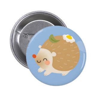 Hedgehogs 6 Cm Round Badge