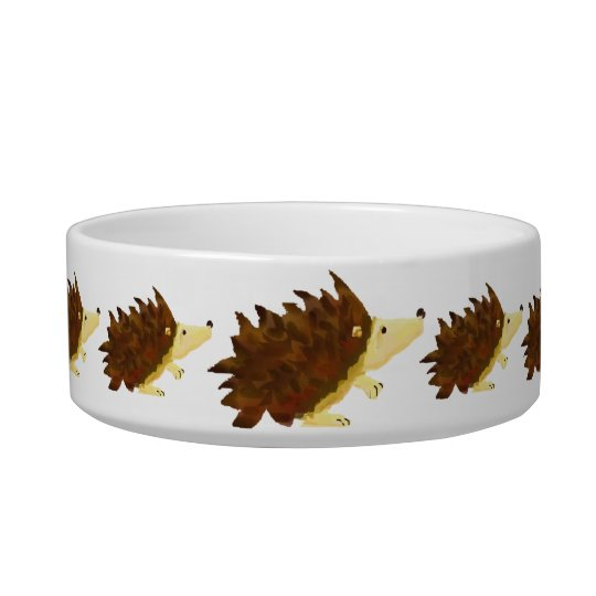Hedgehogs bowl