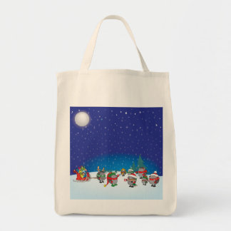 Hedgehog's Christmas magic Tote Bag