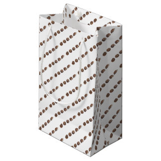 Hedgehogs in a line small gift bag