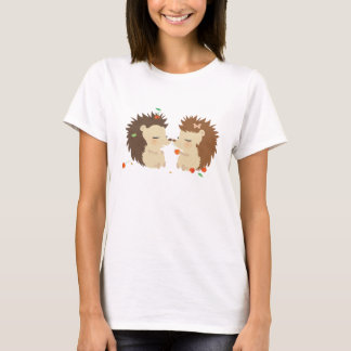 Hedgehogs Love WomanTshirt T-Shirt