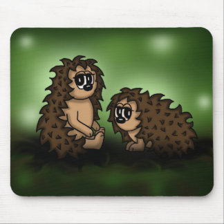 Hedgehogs Mouse Pads