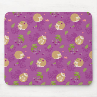 Hedgehogs Mouse Pad