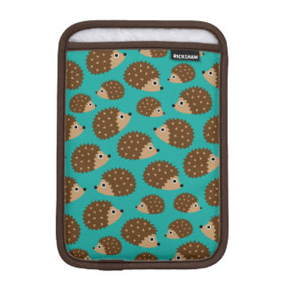 Hedgehogs seamless pattern iPad mini sleeve