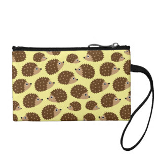 Hedgehogs seamless pattern (ver.2) coin purse