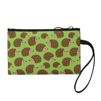 Hedgehogs seamless pattern (ver.3) coin purse