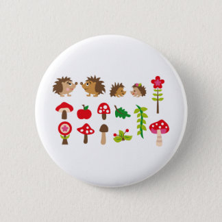 hedgehogsBall 6 Cm Round Badge