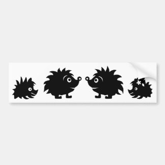 HedgehogSilhouetteAll Bumper Stickers