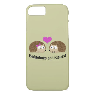 Hedgehugs and Kisses Hedgehog Love iPhone 7 Case