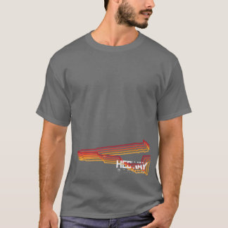 HEDWAY Station coloured lines graphic tee. T-Shirt