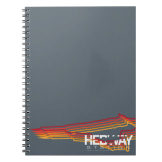 HEDWAY Station spiral notebook