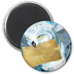 Hedwig 6 Cm Round Magnet