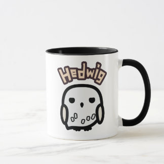 Hedwig Cartoon Character Art Mug