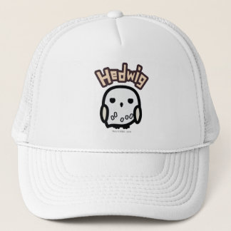 Hedwig Cartoon Character Art Trucker Hat