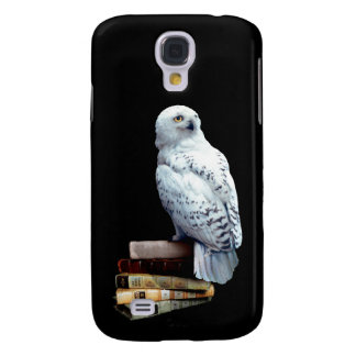 Hedwig on books galaxy s4 case