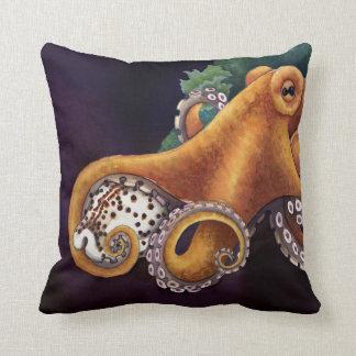 He'e (octopus) with Cowry (Dark) Cushion