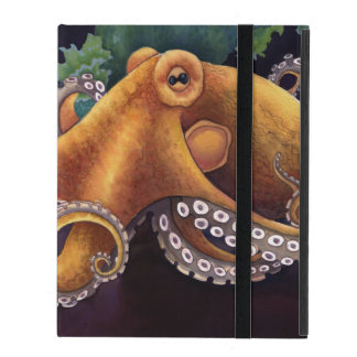 He'e (octopus) with Cowry (Dark) iPad Folio Cover