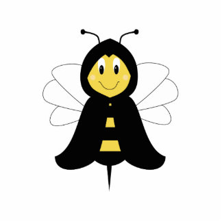 HeeBee Bumble Bee Ornament Photo Cut Outs