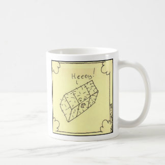 Heeeey Basic White Mug