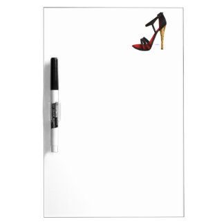Heeled Evening Sandal Dry Erase Board