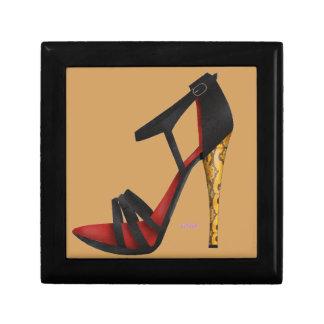 Heeled Evening Sandal Jewellery Box