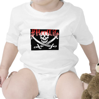#HeelLife Skull Baby Bodysuits