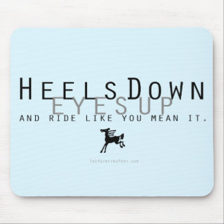 Heels Down Mouse Pad