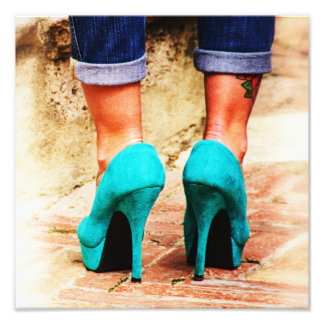 Heels of Fortune Photograph