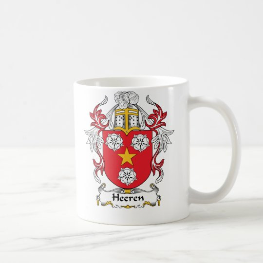 Heeren Family Crest Coffee Mug