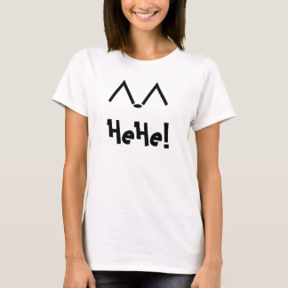 HeHe! Emoticon T-Shirt