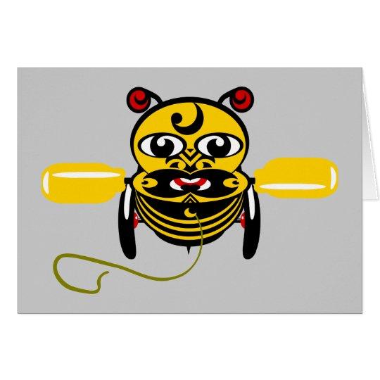 Hei Tiki Bee Toy Kiwiana Card
