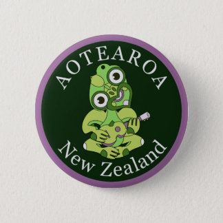 Hei Tiki New Zealand badge
