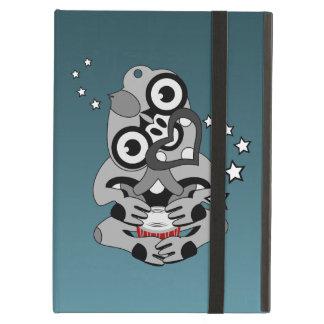 Hei Tiki New Zealand Drum Maori design iPad Air Cover