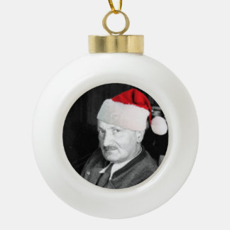 Heidegger Christmas Ornament