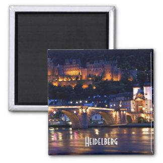 Heidelberg at Night Magnet