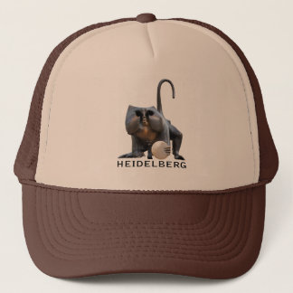 Heidelberg Bridge Monkey Trucker Hat