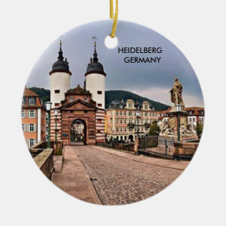 HEIDELBERG GERMANY CHRISTMAS ORNAMENT