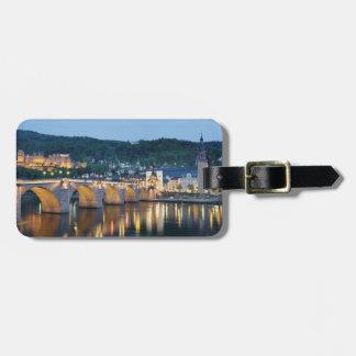 Heidelberg Panoramic view Luggage Tag