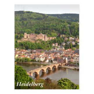 Heidelberg view postcard